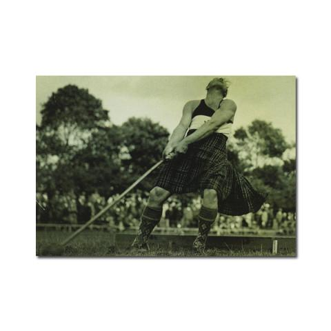 Winning hammer throw magnetic notebook