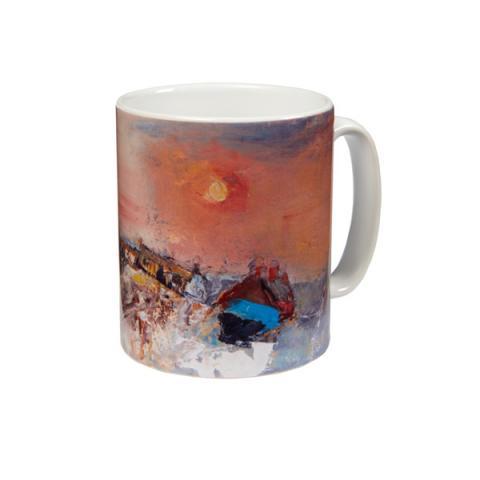 Winter Day, Catterline Joan Eardley Mug