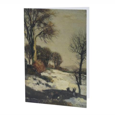 Winter Landscape by William York Macgregor Christmas card pack (10 cards)