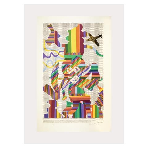 Wittgenstein at the Cinema Eduardo Paolozzi Poster Print