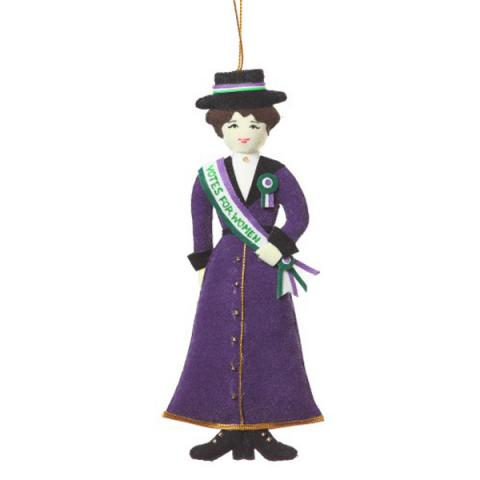 Suffragette Christmas Decoration