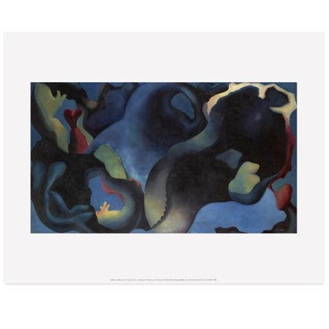 A Point in Time William Johnstone Art Print