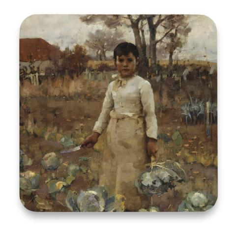 A Hind's Daughter Sir James Guthrie Coaster
