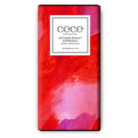 Coco Chocolatier Artisan Roast Espresso Dark Chocolate