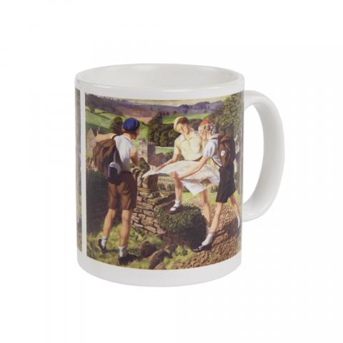Hiking James Walker Tucker Mug
