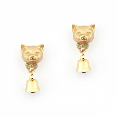 Bill Skinner Kitten Bell Earring studs