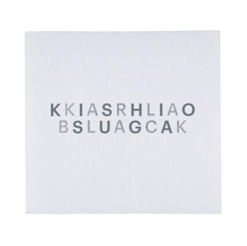 Karla Black + Kishio Suga: A New Order Exhibition Catalogue