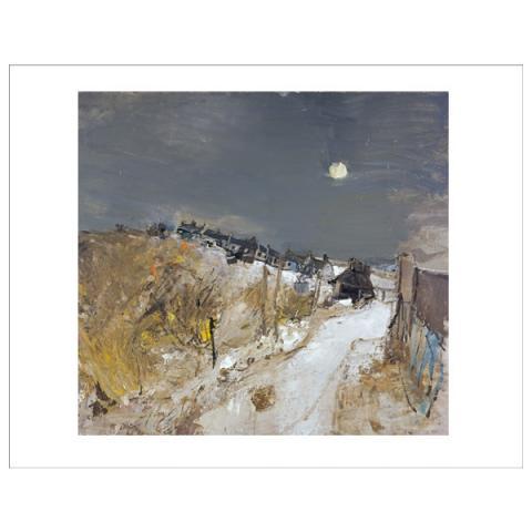 Catterline in Winter Joan Eardley Mini Print