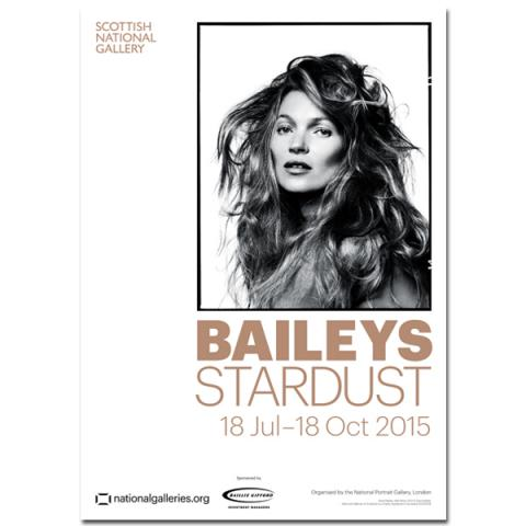 Kate Moss Bailey's Stardust Exhibition Poster