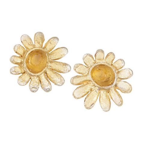 Deco Daisy stud earrings
