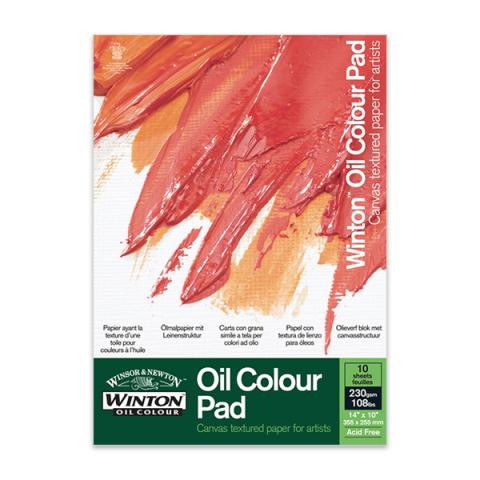 Winton gummed oil colour A4 pad
