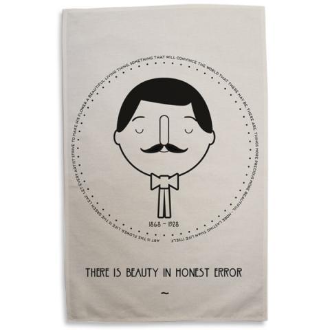 Charles Rennie Mackintosh Tea Towel