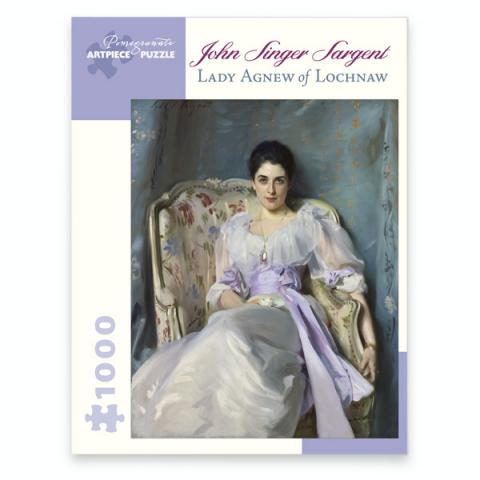 Lady Agnew of Lochnaw John Singer Sargent Jigsaw Puzzle