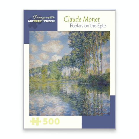 Poplars in the Epte Claude Monet Jigsaw Puzzle