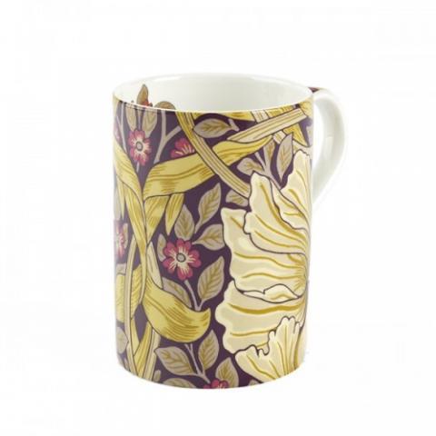 Royal Worcester Morris and Co Pimpernel Fig and Sisal Mug