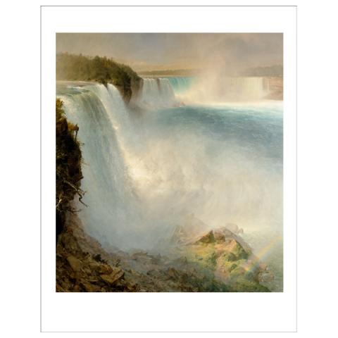 Niagara Falls Frederic Edwin Church Art Print