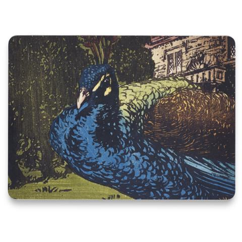 Peacock by Allen William Seaby single placemat