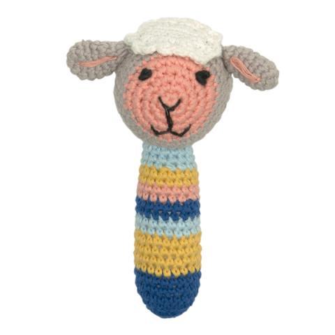 Crochet Rattle Sheep