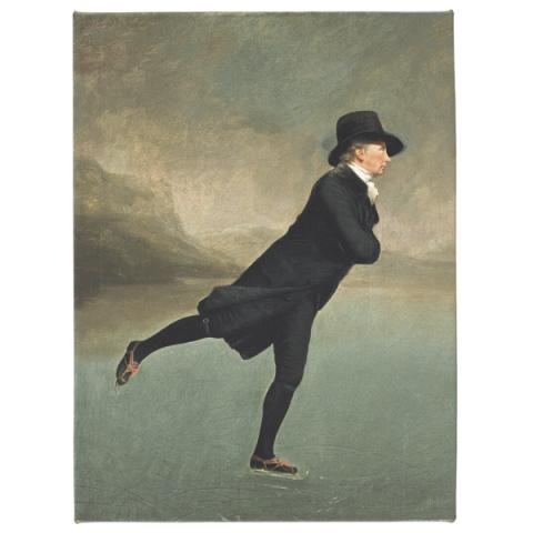 Reverend Robert Walker Sir Henry Raeburn Canvas