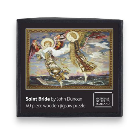 Saint Bride (40 pieces) Jigsaw Wooden Puzzle