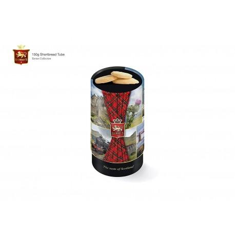 Stewart's special edition Scottish collection shortbread tube (150g)