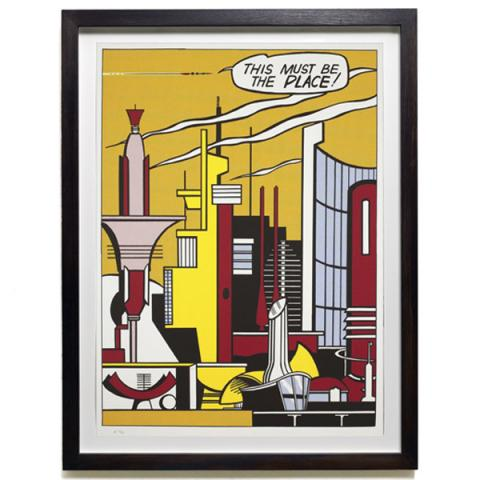 This Must Be the Place by Roy Lichtenstein Limited Edition Print