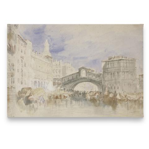 The Rialto by JMW Turner magnet