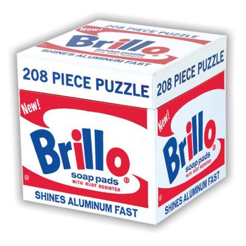 Brillo Andy Warhol Puzzle