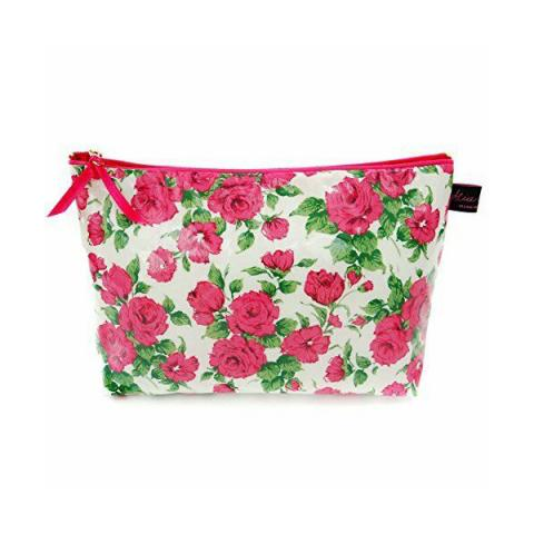 Liberty Carline rose fabric washbag