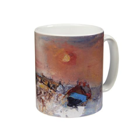 Winter Day, Catterline Joan Eardley Mug