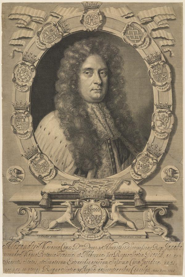 Alexander Stewart, 5th Earl of Moray, d. 1700. Secretary of State for Scotland (1686)