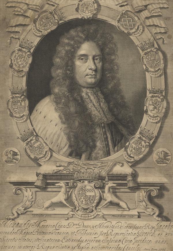 Alexander Stewart, 5th Earl of Moray, d. 1700. Secretary of State for Scotland