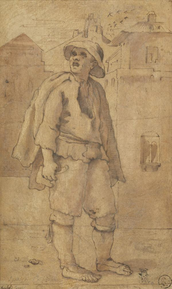 'Spazzacamino' (Chimney Sweep) (About 1590)