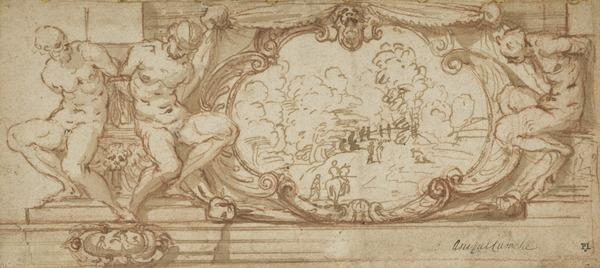 Design for a the Decoration of a Frieze.