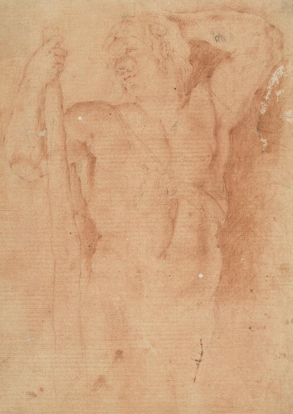 Portrait of Giovanni Francesco Barbieri, il Guercino (1591 - 1666) (Bartsch XVII, 253, 18, I/II) (1623)