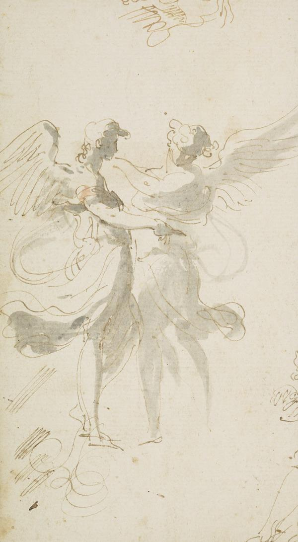 Two Standing Angels