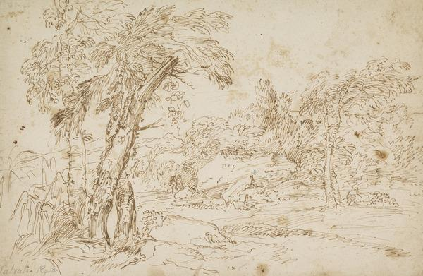 Landscape with Herd of Oxen