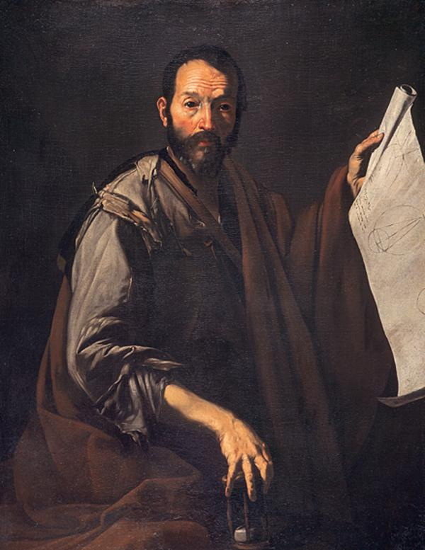 A Philosopher ('A Mathematician') (Painted about 1640 or a little later)