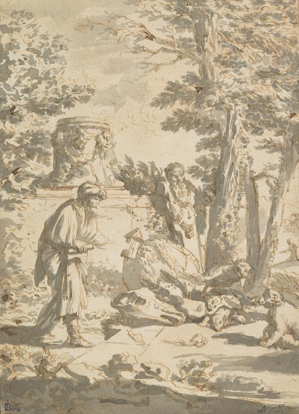 Diogenes Looking For a Man