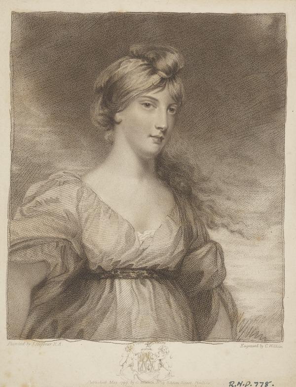 Lady Charlotte Susan Maria Bury (née Campbell), 1775 - 1861. Poet and novelist. (Published 1799)