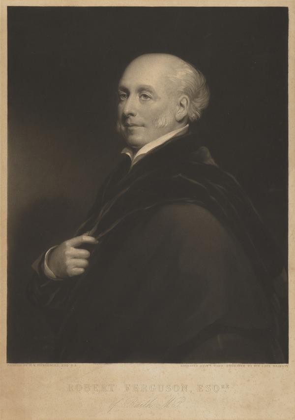 Robert Ferguson of Raith, 1770 - 1840. Member of Parliament