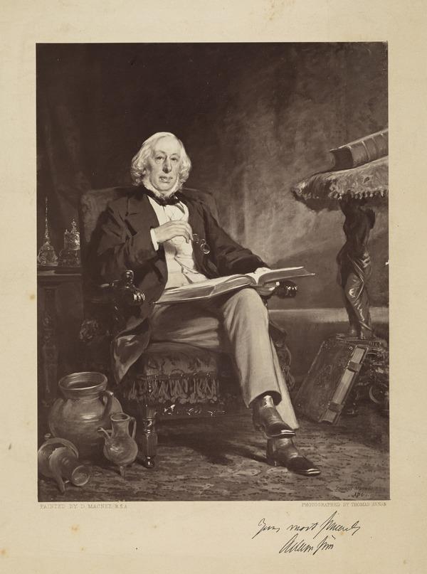 Adam Sim of Coulter Mains,1805 - 1868. Antiquarian
