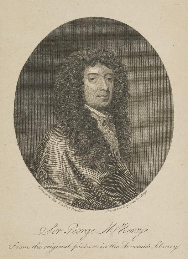 Sir George McKenzie, 1636 - 1691. King's advocate for Scotland, author
