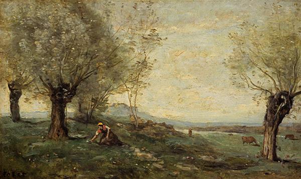 Gathering Primroses (1796 - 1875)