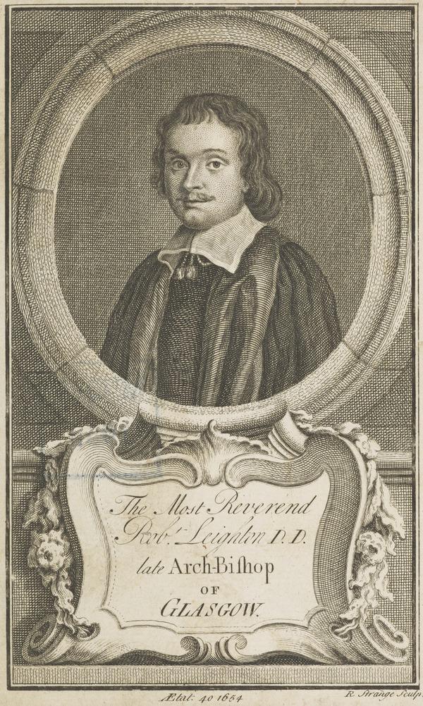 Reverend Robert Leighton, 1611 - 1684. Archbishop of Glasgow (1654)