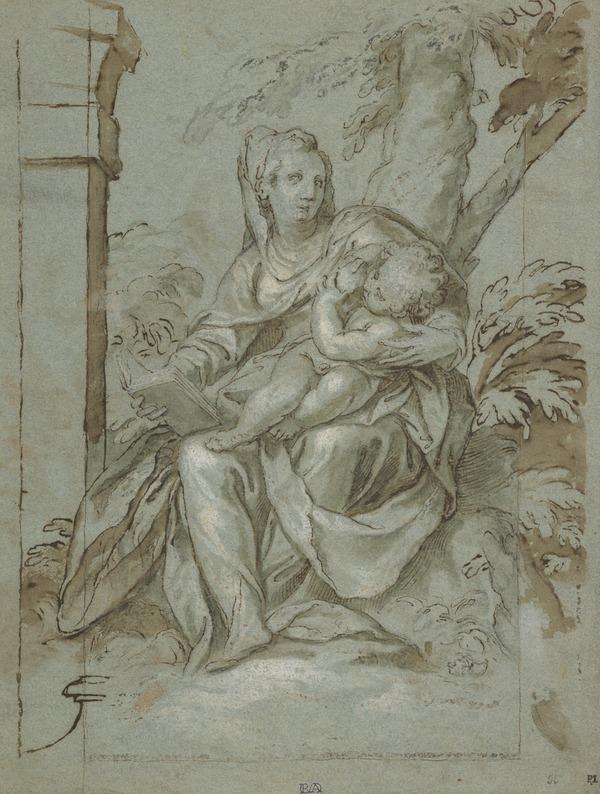 The Virgin and Child Under a Tree (about 1590 - 1600)