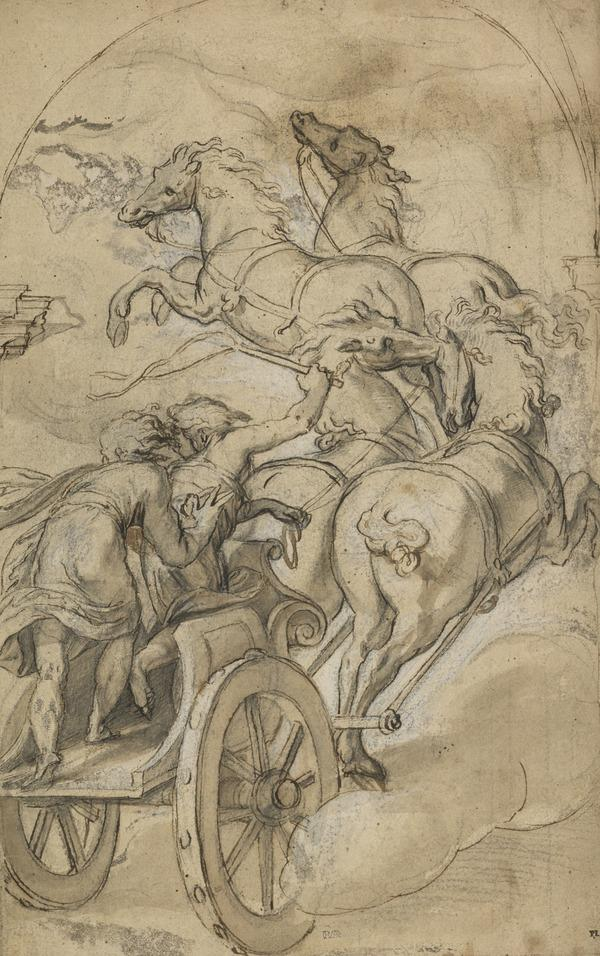 Elijah and the Chariot of Fire