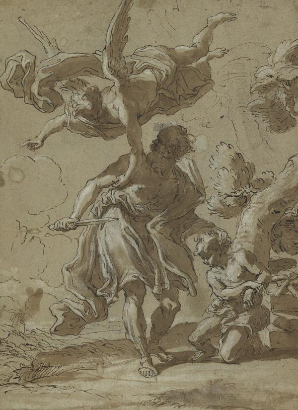 The Sacrifice of Isaac (About 1685 - 1690)