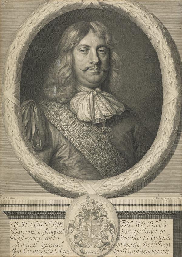 H. Cornelis Tromp. Dutch Admiral (1676)