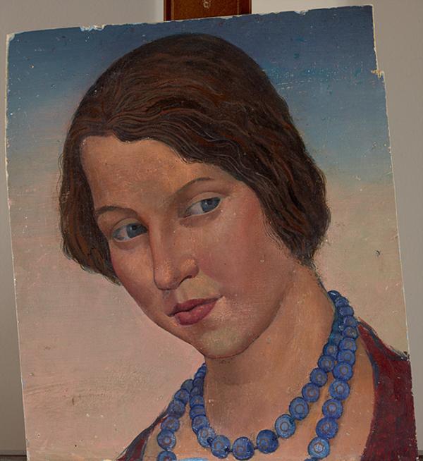 Portrait of Emma Gillies (About 1928)